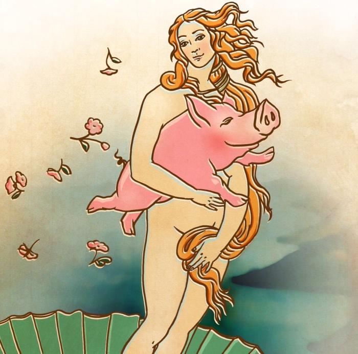 Dimensiunea transcedentală a șoriciului pe relație cu eternulfeminin..